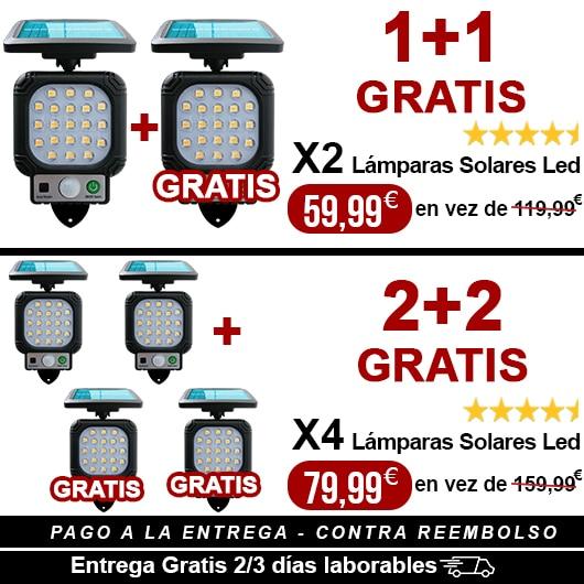 OFFERTA SCONTO PROMOZIONE Faro solare led 90w funziona all'ombra 2-3 DIAS